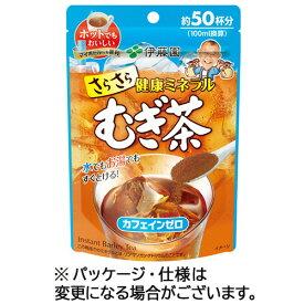 伊藤園 さらさらむぎ茶 インスタント 40g 1セット(6パック)