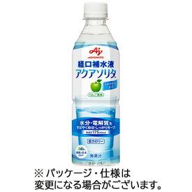 【お取寄せ品】 味の素 アクアソリタ 500ml ペットボトル 1ケース(24本) 【送料無料】