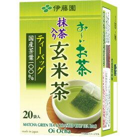 伊藤園 おーいお茶 抹茶入り玄米茶ティーバッグ 2.0g 1セット(100バッグ:20バッグ×5箱)