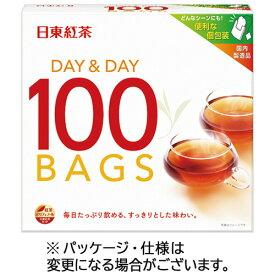 日東紅茶 デイ&デイ ティーバッグ 1.8g 1セット(600バッグ:100バッグ×6箱) 【送料無料】