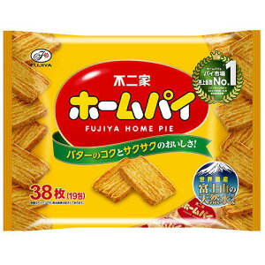 不二家 ホームパイ (2枚×20袋)/パック 1セット(5パック)