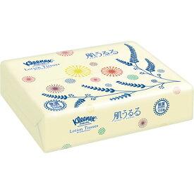 日本製紙クレシア クリネックス ローションティシューソフトパック 肌うるる 110組/個 1パック(24個) 【送料無料】