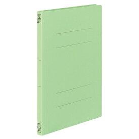 コクヨ フラットファイルV(樹脂製とじ具) A4タテ 150枚収容 背幅18mm 緑 フ−V10G 1セット(30冊:10冊×3パック)