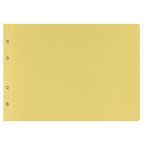 【お取寄せ品】 コクヨ 綴込表紙C クラフトタイプ B4ヨコ 4穴 ツ−53 1セット(10組20枚:1組2枚×10パック)