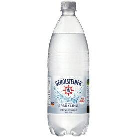 ポッカサッポロ ゲロルシュタイナー 1L ペットボトル 1セット(12本)