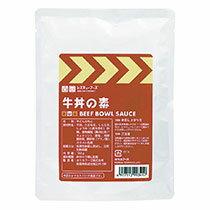 【お取寄せ品】 ホリカフーズ レスキューフーズ 牛丼の素 180g 1セット(24袋) 【送料無料】
