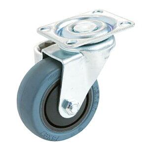 キャスター 台車用 静音タイプ ベアリング入 φ75mm 耐荷重60kg 自在輪車輪 交換用
