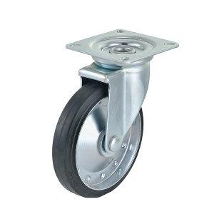 キャスター 台車用 ベアリング入 φ200mm 耐荷重255kg 自在輪 車輪 交換用