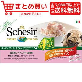 ファンタジーワールドシシア ドッグ チキン&ラム マルチパック 犬 フード 専門店 ウェットフード アルミトレー