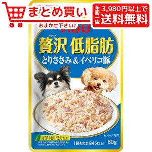 いなば ペット 贅沢低脂肪 とりささみ&イベリコ豚 犬  レトルト パウチ 4901133853388