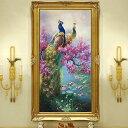 大型サイズ 上級者向け フル ダイヤモンド刺繍 キット ビーズ刺繍 孔雀 桜 睡蓮の池 アジアンテイスト モザイクアート…
