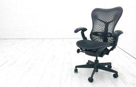 ハーマンミラー ミラチェア 中古チェア Herman Miller Mirra Chair メッシュ 事務椅子 中古オフィス家具 ブラック MR113AAM