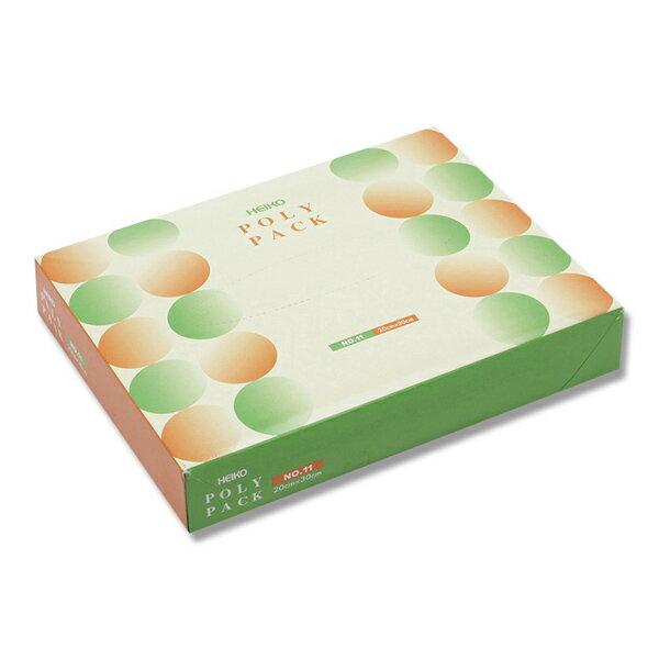 HEIKO ポリパック No.11 1000枚入 【極薄ポリ袋】