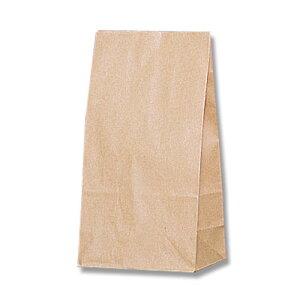 【マチ付紙袋】HEIKO 角底袋 未晒無地 NO.3(100枚入) 120×70×220mm