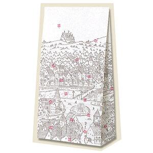 【マチ付紙袋】HEIKO 角底袋 チロル NO.8(100枚入) 155×95×320mm