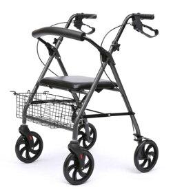 敬老の日 老人補助歩行器 新型多機能車椅子 四輪手押し車 ショッピングカート 座りできる 高さ調節可能 折り畳み式 多機能 外出 ショッピング