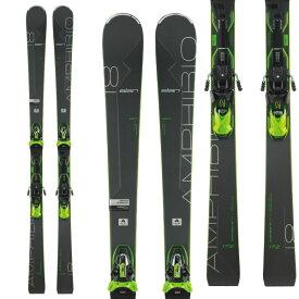 ポイント10倍!10/24AMまで!ELAN エラン 19-20 スキー 2020 AMPHIBIO 18Ti2 Fusion X アンフィビオ 18Ti2 (金具付き) オールラウンド デモ スキー板 (onecolor):