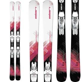 ポイント10倍!10/24AMまで!ELAN エラン 19-20 スキー 2020 SNOW Light Shift スノウ (金具付き) オールラウンド スキー板 レディース (onecolor):