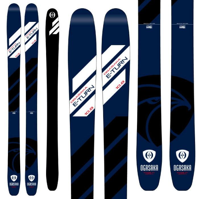 OGASAKAオガサカ19-20スキー2020ET-10.8イーターン(板のみ)スキー板パウダーロッカー(onecolor):