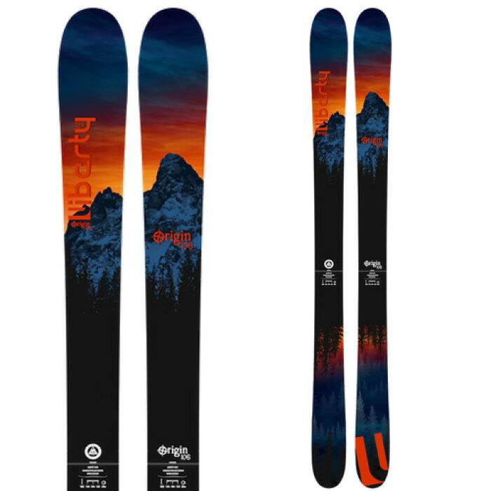 Libartyリバティ19-20スキー2020ORIGIN106オリジン106(板のみ)スキー板パウダーロッカー: