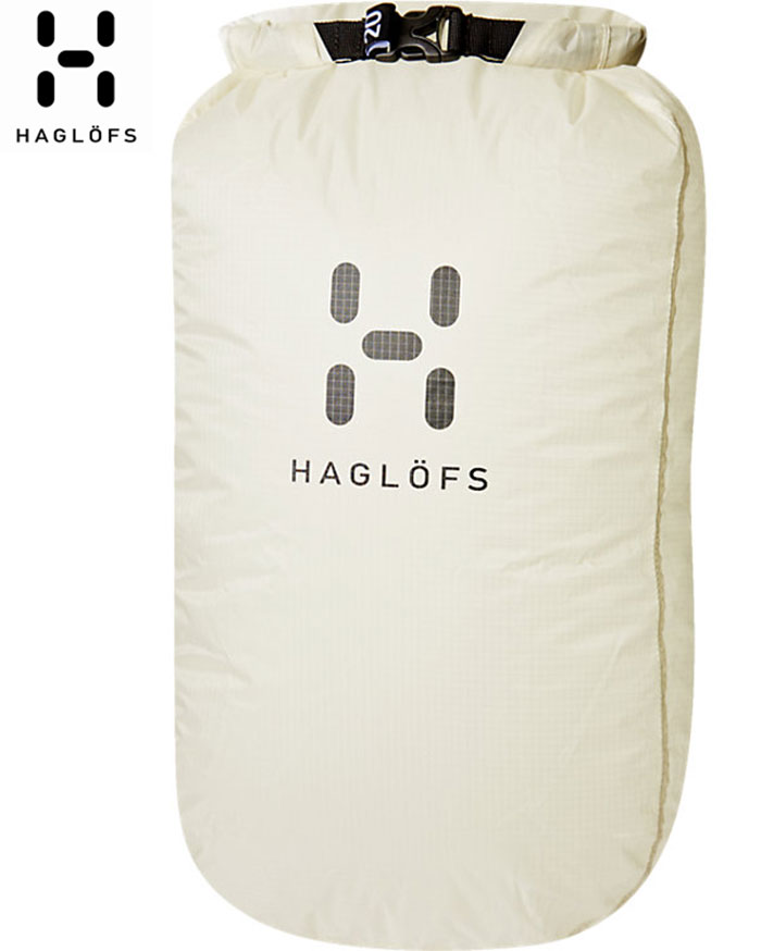 HAGLOFS ホグロフス Dry Bag 20 〔防水BAG ドライバッグ 2018SS〕 [ty] (SOFTWHITE-TRUEBLACK):338064