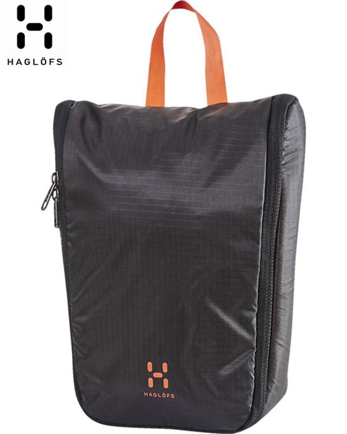 HAGLOFS ホグロフス Toilet Bag Small 〔トイレタリーバッグ 2018SS〕 [ty] (TRUEBLACK):338069