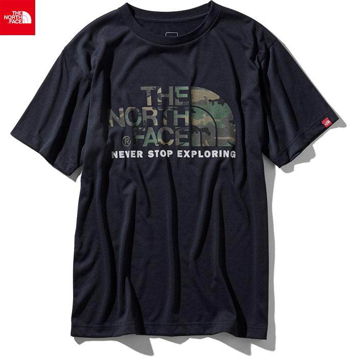 [クーポン利用で10%OFF!4/22まで] THE NORTH FACE ノースフェイス 2019 SS ショートスリーブカモフラージュロゴティー S/S Camouflage Logo Tee Tシャツ (UN):NT31932