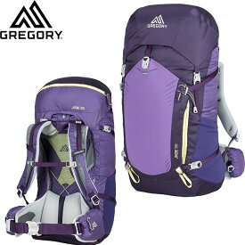 gregory グレゴリー JADE 38 ジェイド 38 登山 アルパイン ザック 女性用 (MOUNTAIN-PURPLE):JADE38 「0604BAG」