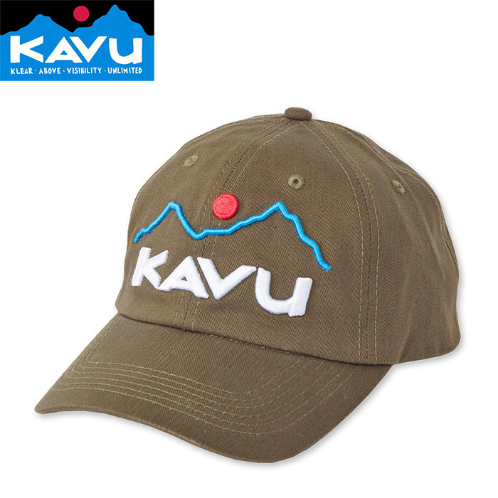 KAVU カブ- No Comb Required 〔CAP 帽子 2018SS 〕 (Olive):19810456 [クリアランスpt0]