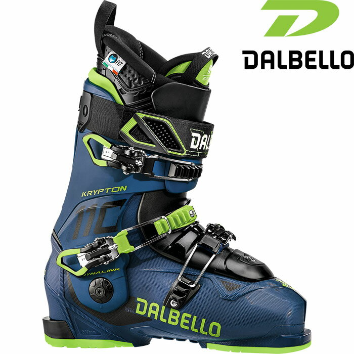 DALBELLO ダルベロ 18-19 KRYPTON AX 110〔2019 スキーブーツ フリースタイル 〕 (AV-AV):D181100200