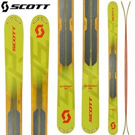 クーポン利用で10%OFF 6/27まで [送料無料] スコット SCOTT 18-19 スクラッパー 124 SCRAPPER 124 スキー パウダー バックカントリー 2019 (-):1102027