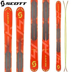 クーポン利用で10%OFF 6/27まで [送料無料] スコット SCOTT 18-19 スクラッパー 115 SCRAPPER 115 スキー パウダー バックカントリー 2019 (-):1102028