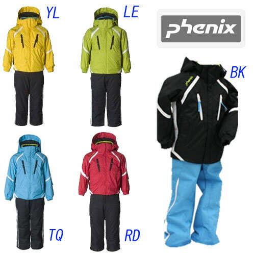 10%OFFクーポン発行中!11/22まで PHENIX フェニックス DEMONSTRATION KID'S 2P スキーウェア 子供用 (BK):PS2G22P71[pd装_snowwear] [40_off] [SP_SKI_WEAR] [pt0]