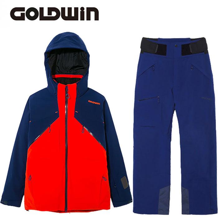[クーポン利用で10%OFF!5/27まで] GOLDWIN ゴールドウィン 17-18 スキーウェア ATLAS JACKET&PANTS G11706P G31707P 旧モデル (FO):G11706P-G31707P