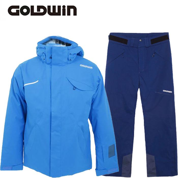 [クーポン利用で10%OFF!5/27まで] GOLDWIN ゴールドウィン 17-18 スキーウェア REFLECTION JACKET&STREAM PANTS G11720P G31713P 旧モデル (CB):G11720P-G31713P