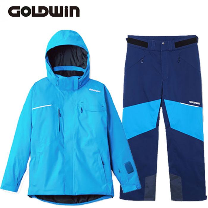 [クーポン利用で10%OFF!5/27まで] GOLDWIN ゴールドウィン 17-18 スキーウェア STREAM JACKET&STREAM PANTS G11710P G31713P 旧モデル (NC):G11710P-G31713P