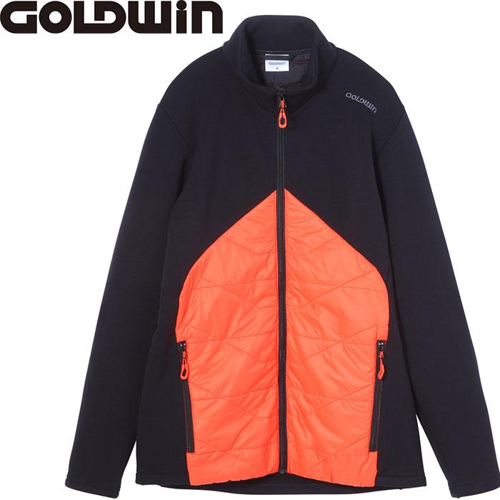 GOLDWIN ゴールドウィン HIBRID STRETCH JK 〔特価 スキーウェア 2018 ミドラー〕 (フレイムオレンジ):G51705P [特価 スキーウェア]