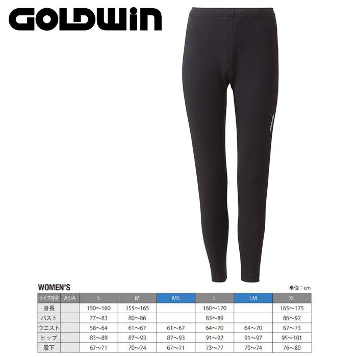 GOLDWIN ゴールドウィンW's Heat Stretch Pants 〔Women's スキーウェア インナーフリースパンツ〕 (K):GL51563P [50_off] [SP_SKI_WEAR] [pt0]