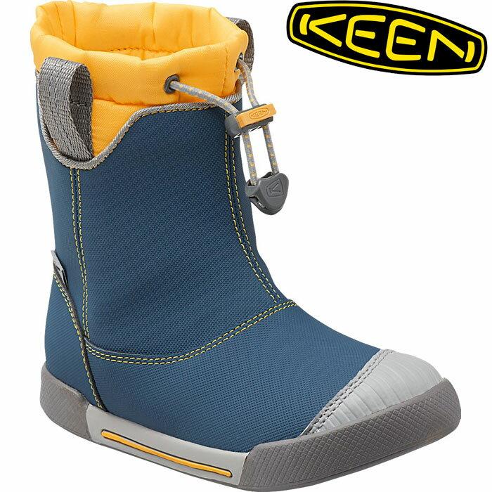 KEEN キーン KIDS Encanto 365 Boot WP Lite エンカント ブーツ ウォータープルーフ ライト (PoseidonYellow):1015473 [30_off] [SP_OD_SHOES]