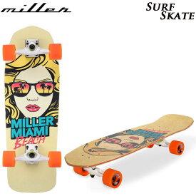 """MILLER ミラー サーフスケート SURF SKATE Miani Girl 31"""" スケートボード サーフトラック (-):"""
