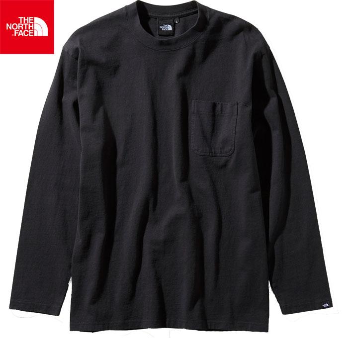 [クーポン利用で10%OFF!5/27まで] THE NORTH FACE ノースフェイス 2019 SS ロングスリーブガーメントダイヘビーコットンティー L/S GD Heavy Cotton Tee 長袖Tシャツ (K):NT81831