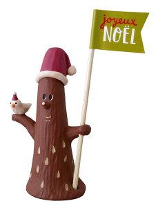 decoleconcombre森のクリスマススティックマスコットやさしい木