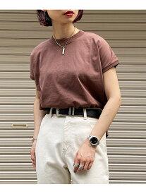 【SALE/11%OFF】ボトルネックフレンチスリーブ PAGEBOY ページボーイ カットソー Tシャツ ブラウン ブラック ホワイト レッド イエロー【RBA_E】[Rakuten Fashion]