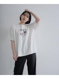 【SALE/48%OFF】トランスグラフィックTEE PAGEBOY ページボーイ カットソー Tシャツ ホワイト ブラック【RBA_E】[Rakuten Fashion]