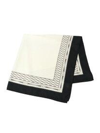 ビットチェーンスカーフ PAGEBOY ページボーイ ファッショングッズ スカーフ/バンダナ ホワイト ブラック[Rakuten Fashion]