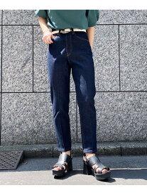 ドレスジーンズ PAGEBOY ページボーイ パンツ/ジーンズ ジーンズその他 ネイビー ブルー ベージュ【送料無料】[Rakuten Fashion]