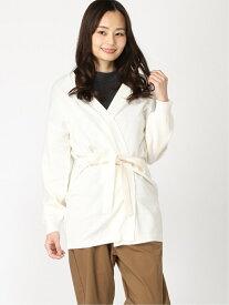 カシュクールユルCD PAGEBOY ページボーイ ニット カーディガン ホワイト ブラック ブラウン[Rakuten Fashion]