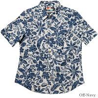アロハシャツレディース(女性用)「BotanicalEarth」全3色半袖XL大きいサイズあり