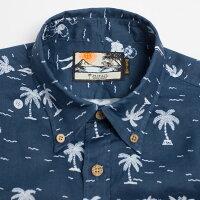 ドラゴンボール30周年記念シャツアロハシャツメンズ(男性用)「GettheDRAGONBALL」全1色長袖3L大きいサイズあり沖縄結婚式にアロハシャツ