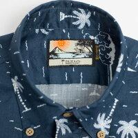 ドラゴンボール30周年記念シャツアロハシャツメンズ(男性用)「GettheDRAGONBALL」全1色半袖3L4L5L大きいサイズあり沖縄結婚式にアロハシャツ